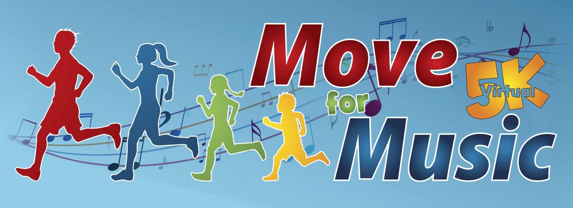 Move for Music Virtual 5k Graphic